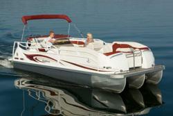 JC Pontoon Boats SunToon 23 TT Pontoon Boat