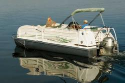 JC Pontoon Boats 21 TT SportToon Pontoon Boat
