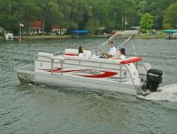 JC Pontoon Boats 21 Ensign NepToon Pontoon Boat
