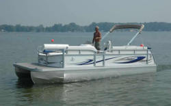 JC Pontoon Boats 23 Ensign NepToon Pontoon Boat