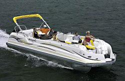 JC Pontoon Boats Evolution 260 IO Pontoon Boat