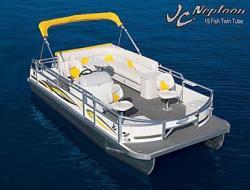 JC Pontoon Boats NepToon 19F Pontoon Boat