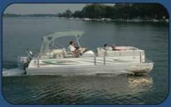 JC Pontoon Boats NepToon 23 TT Pontoon Boat
