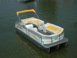 JC Pontoon Boats NepToon 25 TT Pontoon Boat
