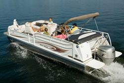 JC Pontoon Boats 25 TT SportToon Pontoon Boat