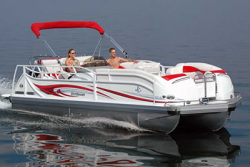 JC Pontoon Boats 266 TriToon Pontoon Boat