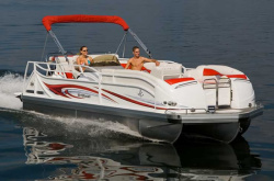 JC Pontoon Boats - 226 TriToon