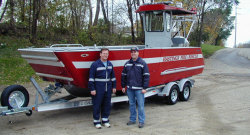 2012 - Lake Assault Boats - LC 215 RescueDive