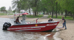 2012 - Lake Assault Boats - LC 24 RescueDive