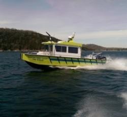2018 - Lake Assault Boats - 31 Western Taney Fireboat