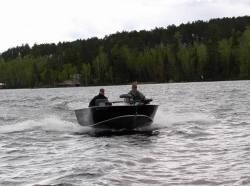 Lake Assault LACB16 Tiller Boat