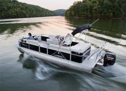 2013 - Landau Boats - Island Breeze 252 Sport Cruise