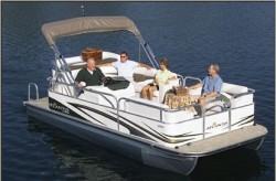 Landau Boats Atlantis 210 Pontoon Boat