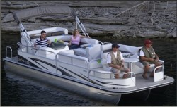 Landau Boats Atlantis 250 FC Pontoon Boat