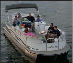 Landau Boats Atlantis 2703 Pontoon Boat