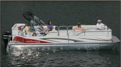 Landau Boats Atlantis 250 Pontoon Boat