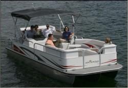 Landau Boats Atlantis 230 Pontoon Boat