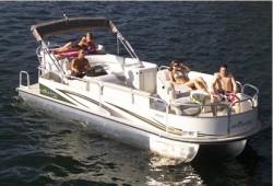 Landau Boats Atlantis 2503 Pontoon Boat
