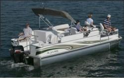 Landau Boats A-Lure 214 Pontoon Boat