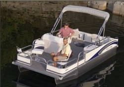 Landau Boats A-Lure 184 Pontoon Boat