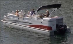 Landau Boats Atlantis 230 FC Pontoon Boat