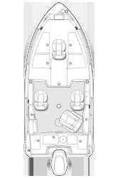 2017 - Larson FX - 1750 Tiller