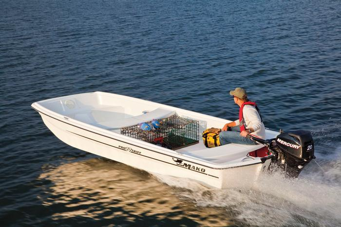 Research 2012 - Mako Boats - Pro 17 Skiff Tiller on iboats.com
