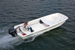 2012 - Mako Boats - Pro 17 Skiff Tiller