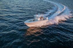 2018 - Mako Boats - 334 CC Bluewater Famiy Edition