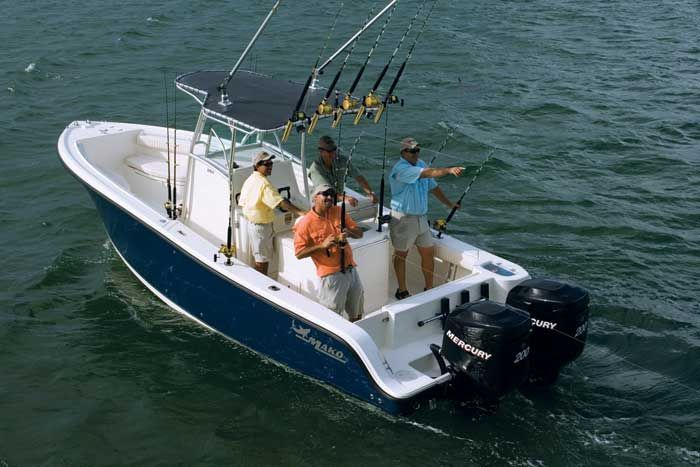 Research Mako Boats 264 Cc Center Console Boat On Iboats Com