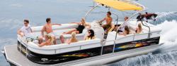 2009 - Manitou Boats - 24 X-plode Cruise