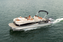 2011 - Manitou Boats - 27 Legacy SES