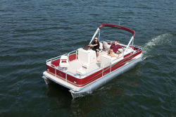 2012 - Manitou Boats - 22 Oasis  AnglerTwin Tube