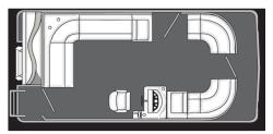 2013 - Manitou Boats - 18 Aurora Twin Tube