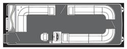 2013 - Manitou Boats - 24 Aurora VP