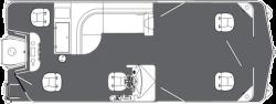 2015 - Manitou Boats - 22 Oasis Angler Twin Tube