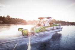 2017 - Manitou Boats - X-Plode 23 SRW Dual Engine