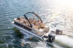 2017 Manitou Boats Legacy 23 SRW Dual Engine