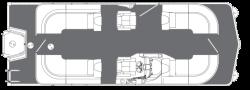 2018 - Manitou Boats - Legacy 23 RF