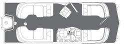 2018 - Manitou Boats - X-Plode XT 23 RFX