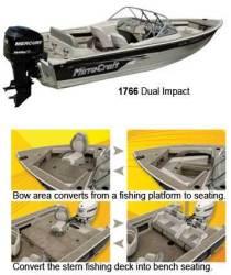 2011 - Mirrocraft Boats - 1766 Dual Impact