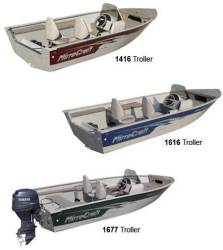 2011 - Mirrocraft Boats - 1400 Troller