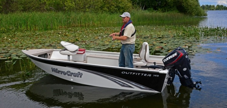 Polar Kraft Boats >> Research 2014 - Mirrocraft Boats - 1615-O Outfitter on ...