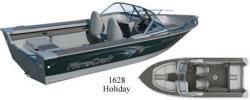 Mirrocraft Boats 1628 Holiday Utility Boat