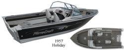Mirrocraft Boats 1957 Holiday Utility Boat