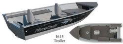 Mirrocraft Boats 1615 Troller Utility Boat