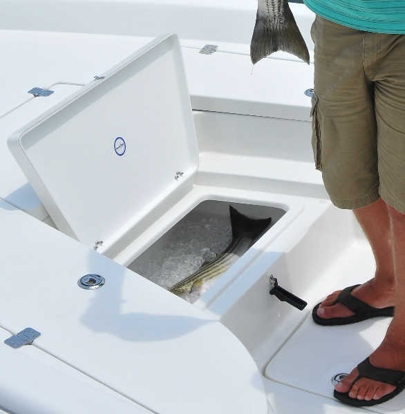 Research 2014 nauticstar boats 2110 shallow bay on for Fish box for boat
