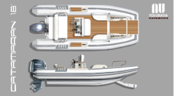 2018 - Novurania RIB - Catamaran 18