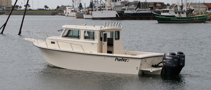 Research 2011 Parker Boats 2530 Extended Cabin On