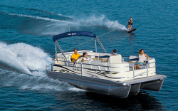 Parti Kraft PK2386 RE4 Sport Pontoon Boat